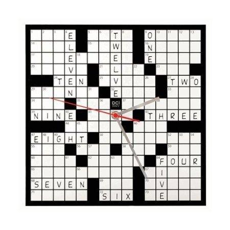 crossword clock