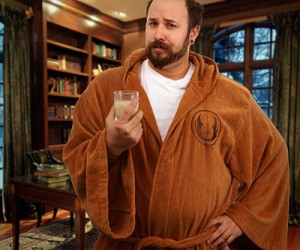 Dry off in style with the Star Wars Jedi Bathrobe Adult – one-size-fits-all Available in two styles. Jedi (brown) and Sith (black – pics coming soon!) Super soft cotton terrycloth