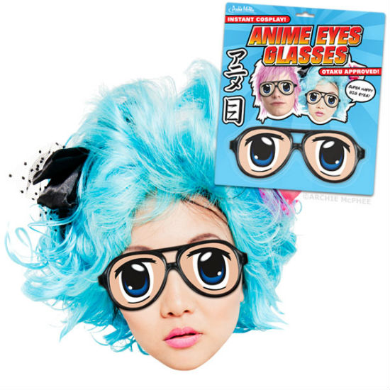 anime eyes glasses