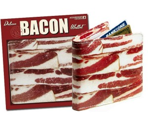 Talk about bringing home the bacon with this hilarious bacon wallet