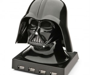 Use the force with this cool Darth Vader usb hub – the hub can hold up to 4 usbs at once and