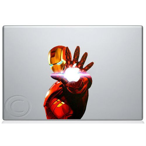 iron man mac decal