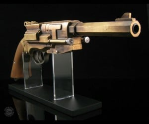 Get your hands on the new Malcolm Reynolds Metal Plated Replica Pistol – a must for any firefly fan…