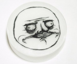 With the me gusta meme soap you too will be saying Me Gusta after using this hilarious rage face to wash yourself.