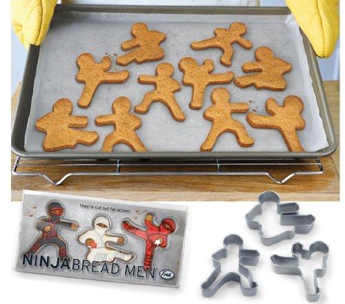 ninja bread cookie cutters