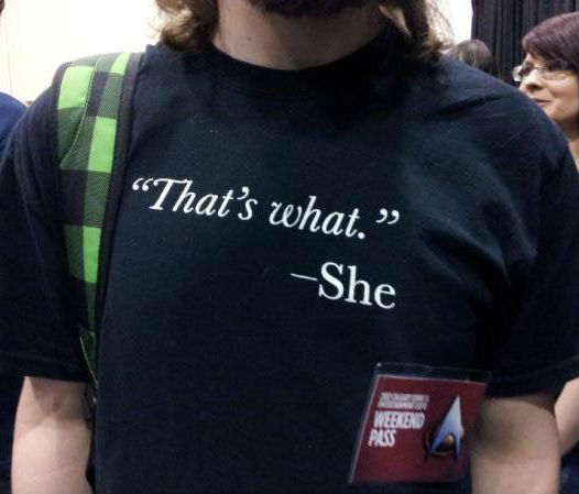 thats what she shirt