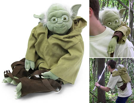 Yoda Backpack Shut Up And Take My Money