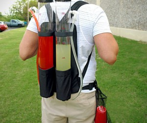 Backpack Drink Dispenser: Now bring the party with you wherever you go with the Tailgater dual tank backpack drink dispenser! (seriously I actually own one)