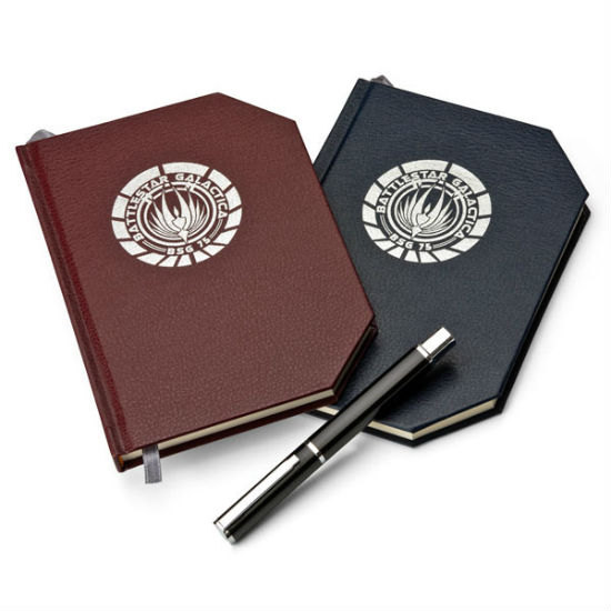 battlestar galactica notebook