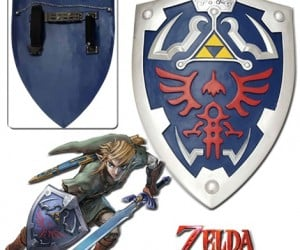 Hylian Zelda Shield – It's dangerous to go alone so take this full size hylian zelda shield with you.