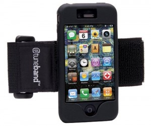 iPhone Armband – The tuneband iPhone armband is great for any sort of outdoor activity where you'd need to have your iPhone strapped to your arm.