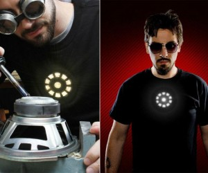 LED Iron Man Shirt – Look just like Tony Stark with the LED Iron Man Shirt