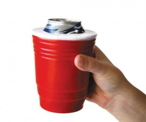 Want to make it look as if you are at a party anywhere you go? Then why not grab the Red Cup Koozie and make it so?