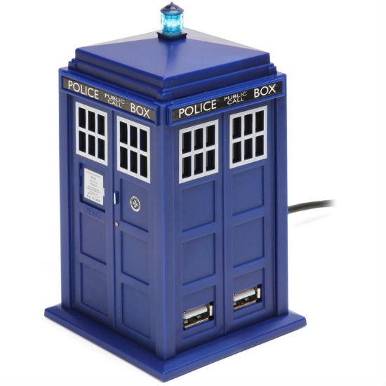 tardis usb hub shut up and take my money