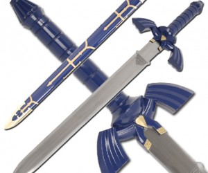 Zelda Sword: Now you too can save Princess Zelda with the Zelda twilight princess replica sword