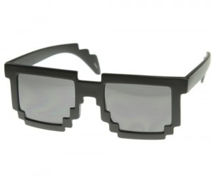 8 Bit Sunglasses – See the world in 8 bit (well not really) with the the retro awesome 8 bit sunglasses!