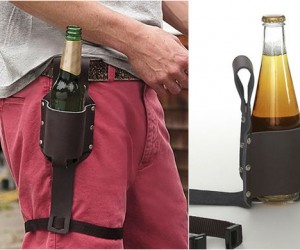 Beer Holster – It doesn't get any manliest than this