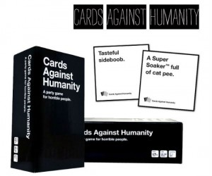 Cards Against Humanity – Play the wildly popular card game: a self proclaimed party game for horrible people…