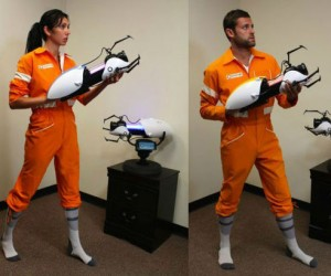 Grab your very own Portal 2 Chell Jumpsuit while supplies last!