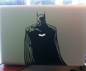 Batman Macbook Decal – Because he's the macbook decal you deserve