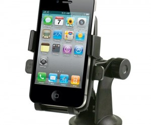 Smartphone dashboard mount – Finally a quality dashboard mount, this baby features one touch lock and release, a 360 degree rotation, and fits most smartphones including iPhone, Samsung Galaxy, and