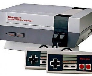 Bring back all those childhood gaming memories with the original nintendo nes gaming system!