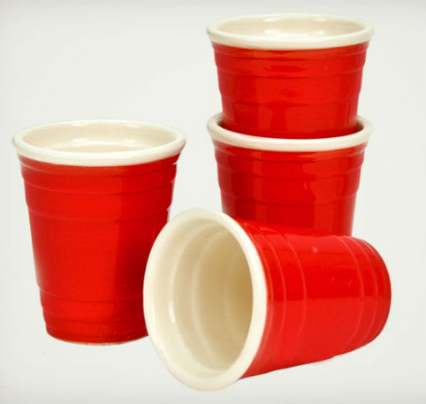 red solo cup shot glass