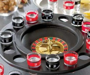 Shot Glass Roulette – Feeling lucky? Or just want to get really drunk really fast? Then try out shot glass roulette where even losers are still winners.