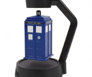 Floating TARDIS – Great conversation starter for any Whovian