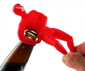 Luchador Bottle Opener – Employ the help of this tiny masked wrestler with all your bottle opening needs