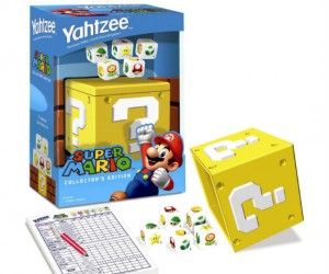 It's a-yahtzee it's a-mario it's-a hours of fun for the whole family