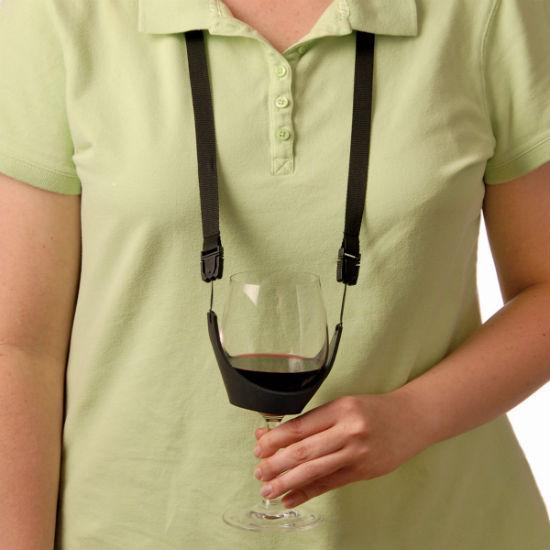 no hands wine holder