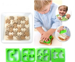 Because playing with your food was never more puzzling?