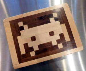 Space Invaders Cutting Board – An 80's classic brought back in cutting board form.