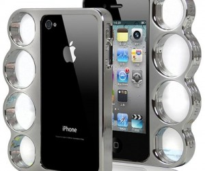 Toughen up your iPhone with this stylish bumper case which is the ultimate tool for securing your phone to your hand.