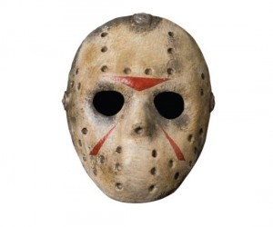 Buy it as a classic Haloween costume, then save it to jump out and scare your friends on the next Friday the 13th.