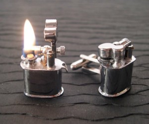 Now you will never lose your lighter, never go without a smoke break again.
