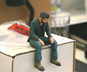 Cheer yourself up with your very own Little Sad Keanu figurine