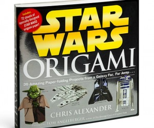 Star Wars Origami – Fold the paper with the force that way you won't get a paper cut.