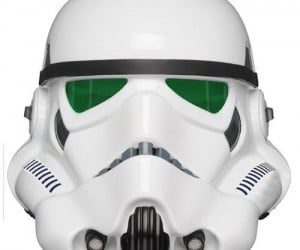 Be the coolest kid on the block with this Star Wars Stormtrooper helmet replica from A New Hope.
