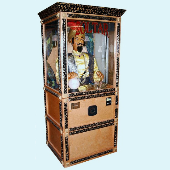 Life Size Zoltar Fortune Teller Shut Up And Take My Money