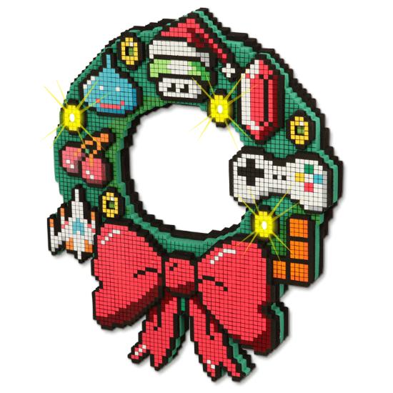 8 Bit Led Wreath