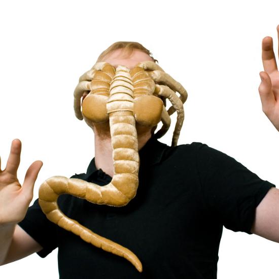 Alien Facehugger Plush Shut Up And Take My Money