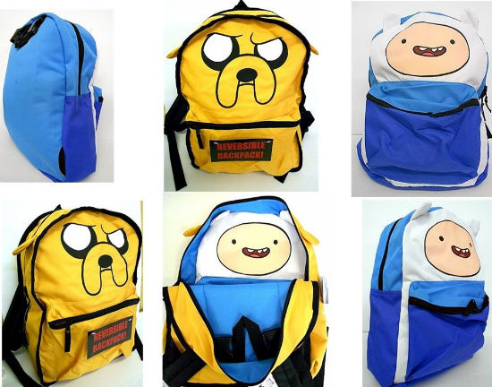 Adventure Time Reversible Backpack Shut Up And Take My Money