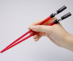 Darth Vader Chopsticks – Eat your Chinese food using the dark side of the force, and if you're not good at using chopsticks, you may need the power of the