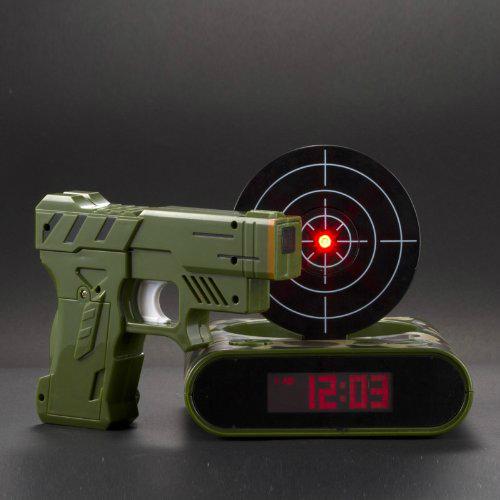 Gun Alarm Clock Shut Up And Take My Money