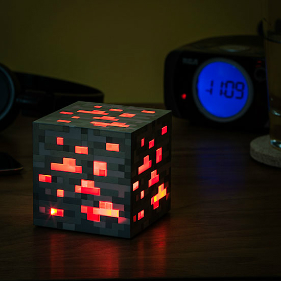 minecraft how to make lamp