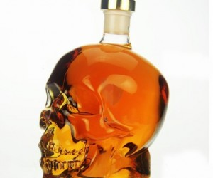 Your bar would look awesome with this decanter storing your favorite alcohol, it would look even better if you added the Crystal Skull Shot Glass to the collection.