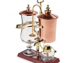 Steampunk Coffee Maker – Make the best cup of coffee you could imagine with a combination of science and elegance.