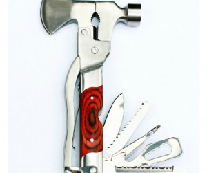 Axe Multi Tool – So many uses for this tool it will take a long time before you have used every attachment.